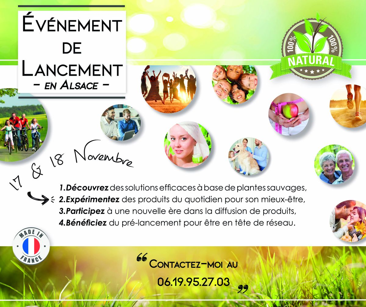 lancement evenement