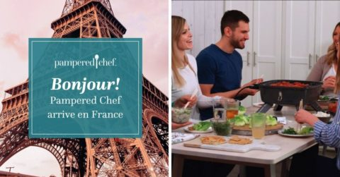 Pampered Chef arrive en France