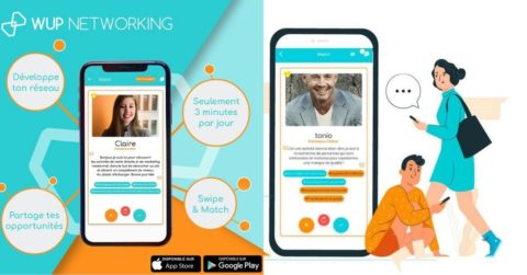WUP 1ère application dédiée au marketing relationnel